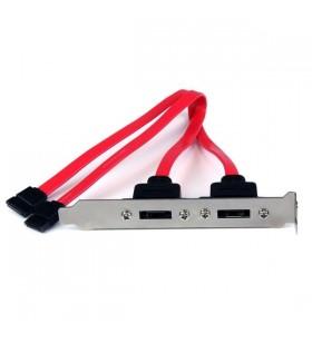 StarTech.com ESATAPLATE2 cabluri SATA