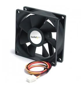 StarTech.com 5000 RPM 6 x 2.5cm Fan TX3 Carcasă calculator Negru