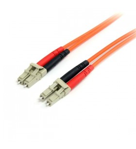 StarTech.com FIBLCLC3 cabluri din fibră optică 3 m LC Portocală
