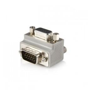 StarTech.com Right Angle VGA   VGA Cable Adapter Type 1 - M F DB15 Gri