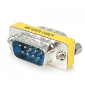 StarTech.com GC9SM cabluri prelungitoare cu mufe mamă tată DB-9 Argint