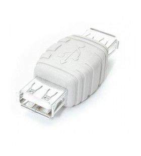 StarTech.com Gender Changer USB A Female to USB A Female Alb