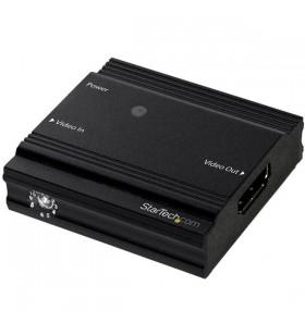 StarTech.com HDBOOST4K repetoare audio video Repeater AV Negru