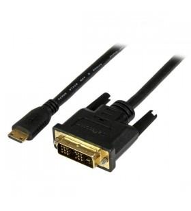 StarTech.com Mini HDMI - DVI-D Cable, 3m Mini-HDMI Negru