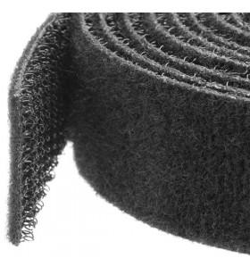 StarTech.com HKLP25 coliere pentru cabluri Negru 1 buc.