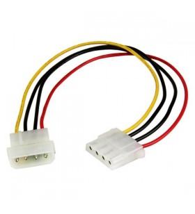 StarTech.com LP4POWEXT12 cablu alimentare energie electrica intern 0,304 m