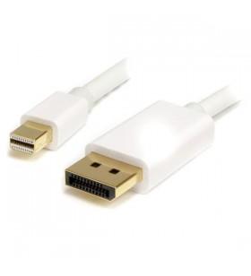 StarTech.com MDP2DPMM1MW cablu DisplayPort 1 m mini DisplayPort Alb