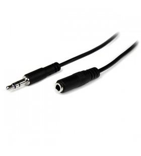 StarTech.com MU2MMFS cablu audio 2 m 3.5mm Negru