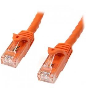 StarTech.com N6PATC10MOR cabluri de rețea 10 m Cat6 U UTP (UTP) Portocală
