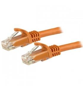 StarTech.com N6PATC15MOR cabluri de rețea 15 m Cat6 U UTP (UTP) Portocală