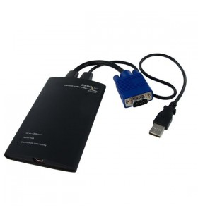 StarTech.com NOTECONS01 cabluri KVM Negru