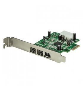 StarTech.com PEX1394B3 plăci adaptoare de interfață Firewire 800   400 Intern