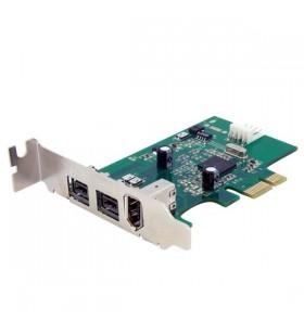 StarTech.com PEX1394B3LP plăci adaptoare de interfață IEEE 1394 Firewire Intern