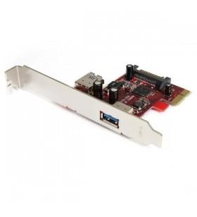 StarTech.com 2 port PCI Express SuperSpeed USB 3.0 Card plăci adaptoare de interfață USB 3.2 Gen 1 (3.1 Gen 1)