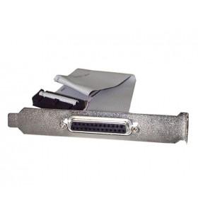 StarTech.com PLATE25F16 cabluri prelungitoare cu mufe mamă tată DB-25 IDC Gri