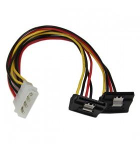 StarTech.com PYO2LP4LSATR cablu alimentare energie electrica intern 0,3048 m