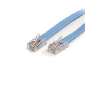 StarTech.com ROLLOVERMM6 cabluri de rețea 1,8 m Albastru
