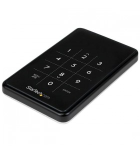 "StarTech.com S2510BU33PW carcasă disc memorie 2.5"" Cutie protecție HDD SSD Negru"