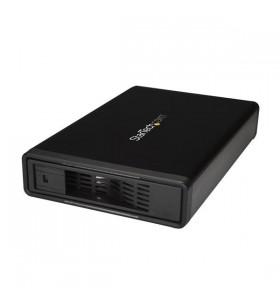 """StarTech.com S351BMU33ETG carcasă disc memorie 3.5"""" Carcasă HDD Negru"""