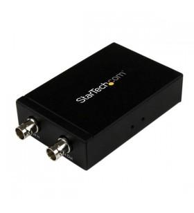 StarTech.com SDI2HD cabluri prelungitoare cu mufe mamă tată HDMI 2xSDI(BNC) Negru