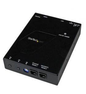 StarTech.com ST12MHDLANRX repetoare audio video Receiver AV Negru