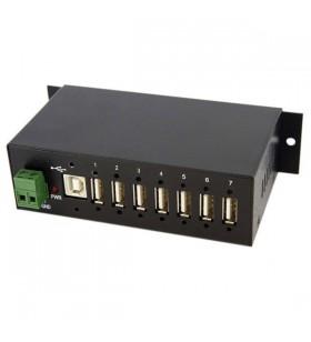 StarTech.com ST7200USBM hub-uri de interfață USB 2.0 Type-B 480 Mbit s Negru