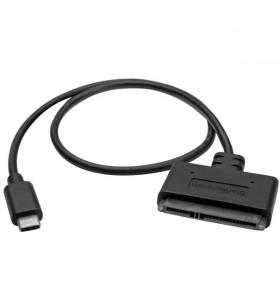 StarTech.com USB31CSAT3CB cabluri prelungitoare cu mufe mamă tată USB 3.1 C SATA (7+15 pin) Negru