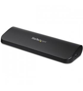 StarTech.com USB3SDOCKHDV stații de andocare și replicatoare de porturi pentru calculatoare portabile Prin cablu USB 3.2 Gen 1