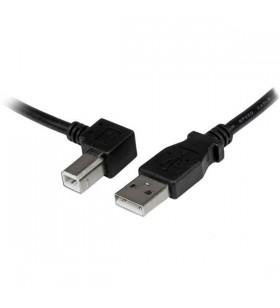 StarTech.com 2m USB 2.0 A - B cabluri USB USB A USB B Negru