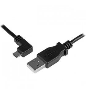 StarTech.com USBAUB1MLA cabluri USB 1 m 2.0 USB A Micro-USB B Negru