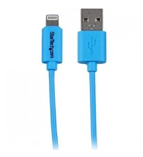 StarTech.com USBLT1MBL cablu Lightning 1 m Albastru