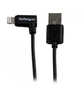 StarTech.com USBLT1MBR cablu Lightning 1 m Negru