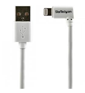 StarTech.com USBLT2MWR cablu Lightning 2 m Alb
