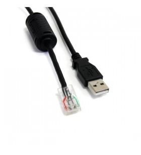 StarTech.com USBUPS06 cabluri USB 1,83 m USB A Negru