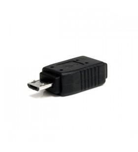 StarTech.com UUSBMUSBMF cabluri prelungitoare cu mufe mamă tată 5 pin Micro-USB B 5 pin mini-USB B Negru