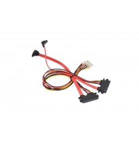 Supermicro CBL-SAST-1034 cabluri SATA 0,62 m Negru, Roşu, Galben