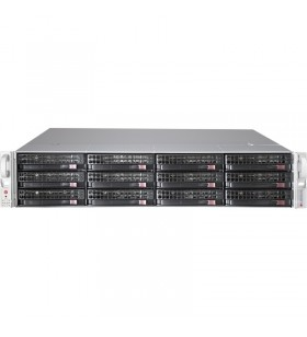 Supermicro SuperChassis 826BE1C-R920LPB Cabinet metalic Negru 920 W