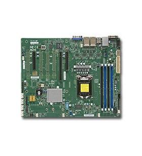 Supermicro X11SSi-LN4F plăci de bază pentru servere stații de lucru LGA 1150 (Mufă H4) ATX Intel® C236
