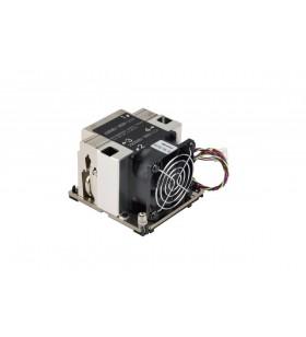 Supermicro SNK-P0068AP4 sisteme de răcire pentru calculatoare Procesor Radiator 6 cm Negru, Nichel