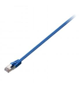 V7 V7CAT6STP-02M-BLU-1E cabluri de rețea 2 m Cat6 S FTP (S-STP) Albastru