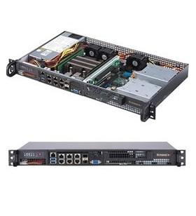 Supermicro SuperServer 5019D-FN8TP Cabinet metalic (1U) Negru