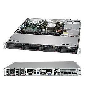 Supermicro SuperServer 5019P-MTR Intel C622 LGA 3647 Cabinet metalic (1U) Negru