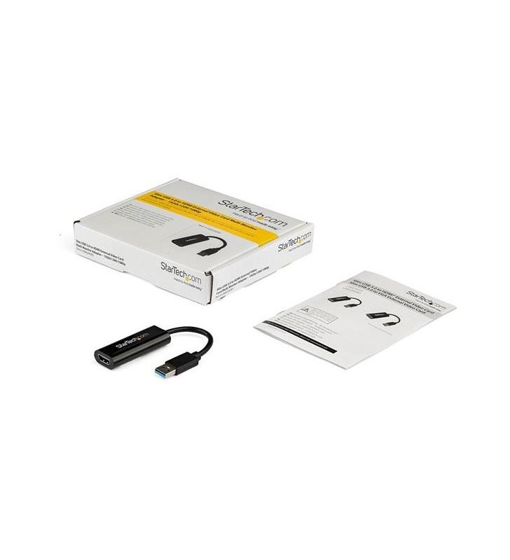 StarTech.com USB32HDES adaptor grafic USB 1920 x 1200 Pixel Negru