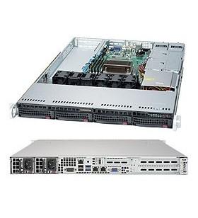 Supermicro 5019S-WR Intel® C236 LGA 1150 (Mufă H4) Cabinet metalic (1U) Negru