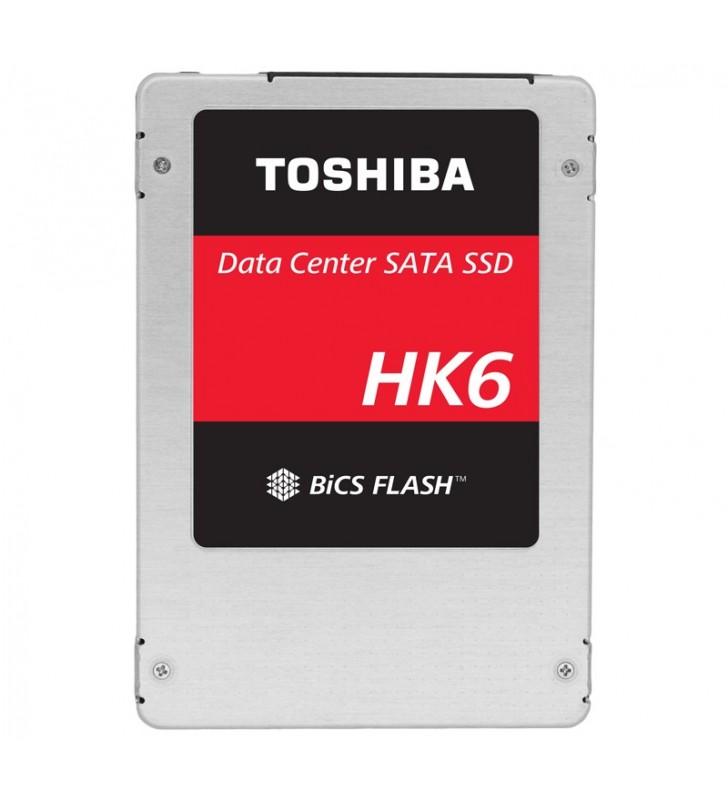 "Toshiba KHK61RSE3T84 unități SSD 2.5"" 3840 Giga Bites ATA III Serial 3D TLC"