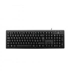V7 KU200 tastaturi USB QWERTY Italiană Negru