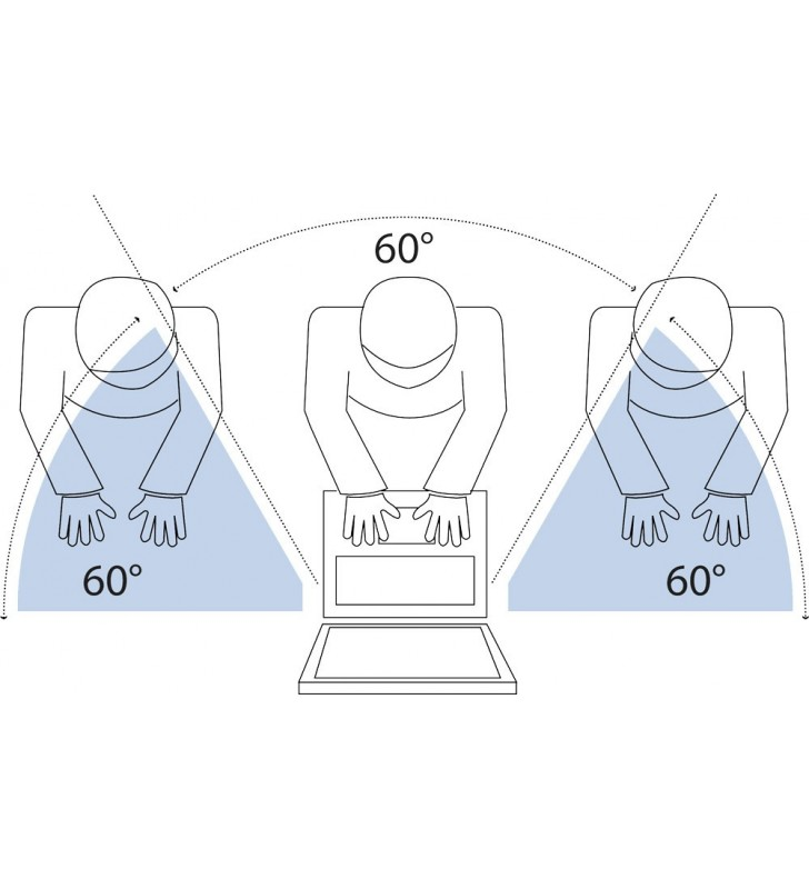 """V7 PS19.0WA2-2E filtre de protecție pentru monitor Filtru confidențialitate ecran fără cadru 48,3 cm (19"""")"""