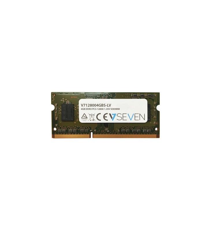 V7 V7128004GBS-LV module de memorie 4 Giga Bites DDR3 1600 MHz