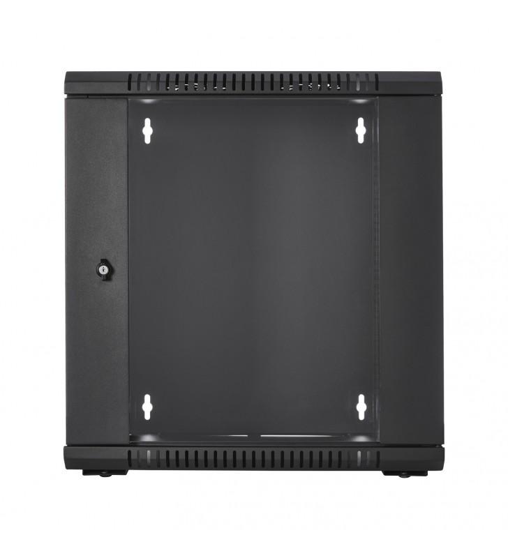 V7 RMWC12UG450-1E rack-uri 12U Raft montat pe perete Negru