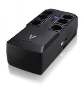 V7 UPS1DT750-1E surse neîntreruptibile de curent (UPS) 750 VA 450 W 6 ieșire(i) AC